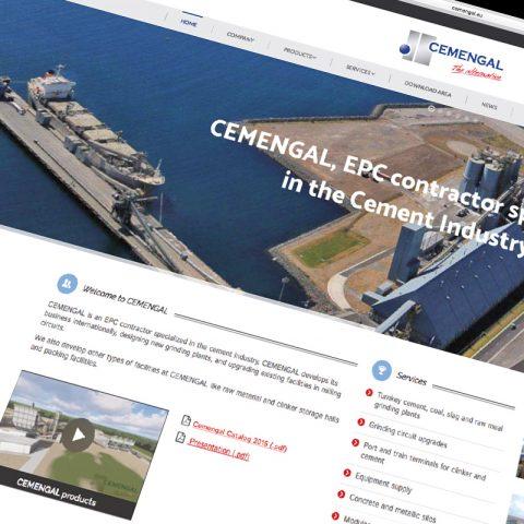 Diseño y mantención web empresa ingeniería internacional. Incluye Blog, Redes Sociales, Hosting y mantención anual