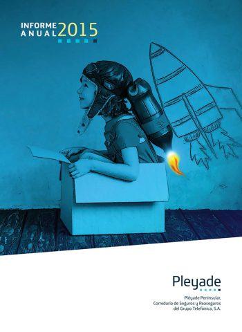 Memoria Corporativa Pléyade Peninsular 2015. Grupo Telefónica