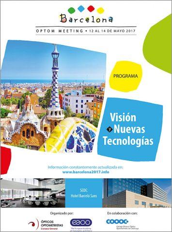 Folleto promoción Congreso Optica 2017