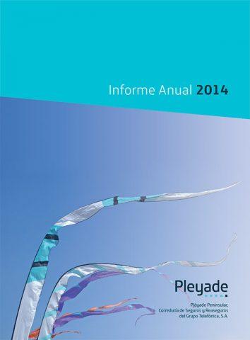 Memoria Corporativa PLEYADE PENINSULAR 2014. Grupo Telefónica